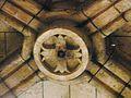 Excideuil église clé de voûte.JPG
