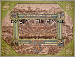 Image illustrative de l'article Exposition internationale urbaine de Lyon de 1914