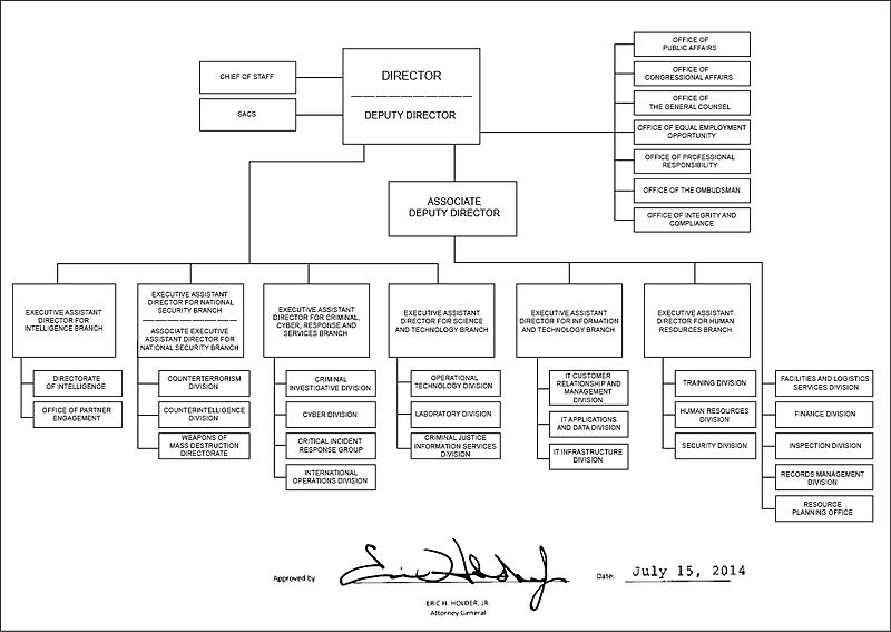 File fbi organizational chart wikimedia commons for Bureau 13 wikipedia