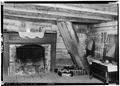 FIREPLACE IN MAIN PART OF HOME - Adam Weaver Log House, U.S. Highway 72, Rogersville, Lauderdale County, AL HABS ALA,39-ROG.V,1-10.tif