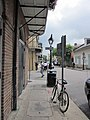 FQ NOLA Royal St Verti Mart post fire sidewalk.JPG
