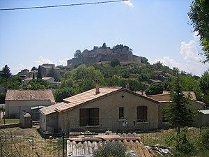 Mane, Alpes-de-Haute-Provence - A general view of the village of Mane