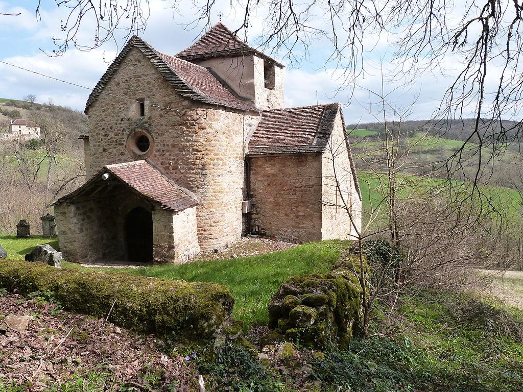 L'église Saint-Clair.