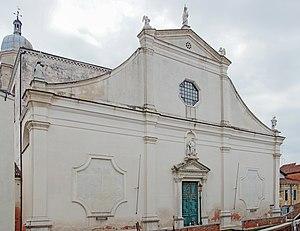 Angelo San Raffaele, Venice - Facade of Chiesa dell'Angelo Raffaele