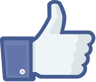 "Like button - The ""Like"" button used for Facebook."