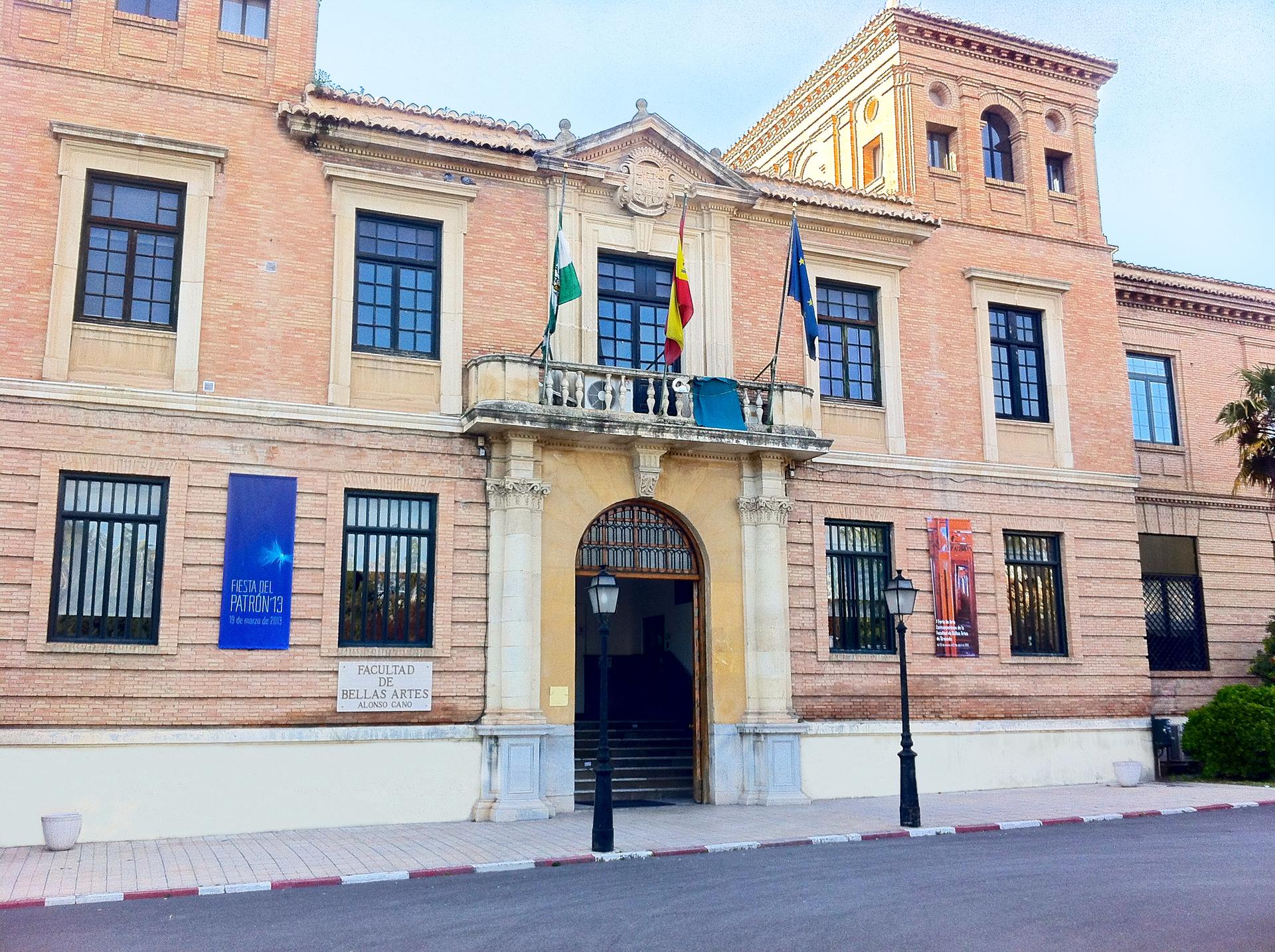 Facultad de bellas artes de la universidad granada for Universidad de arte