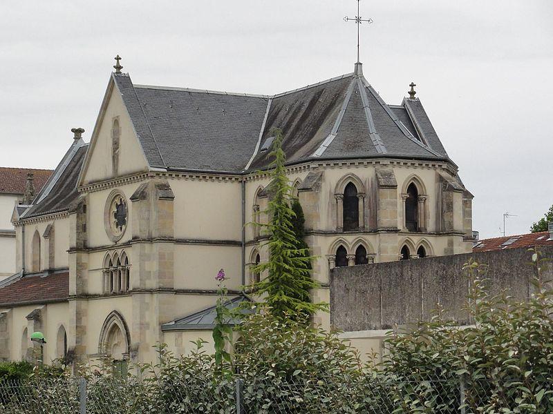 Fains-Véel (Meuse) Fains-les-Sources hôpital psychiatrique, chapelle