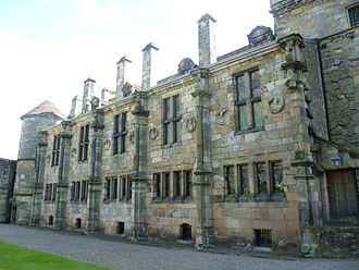 Falkland Palace - Falkland Palace, 'South Quarter' from the Courtyard