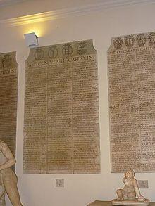 Et preletteraria latina wikipedia - Le 12 tavole romane ...