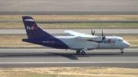 File:FedEx ATR 42 (N911FX) Landing Portland Airport (PDX).ogv