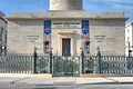 Fence around base of George Washington Monument, Mount Vernon Place Historic District.jpg