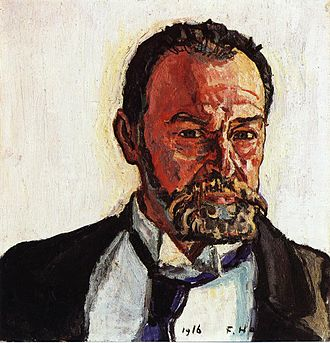 Ferdinand Hodler - Self-portrait, 1916