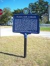 Site historique d'origine de la ville de Fernandina