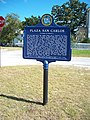 Fernandina Beach FL original town site plaque01.jpg