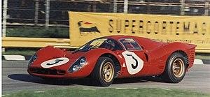 "World Sportscar Championship - Ferrari 330 P4 at ""1000 km di Monza"", 1967"