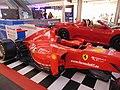 Ferrari F1 cars@MareMagnum Barcelona.jpg