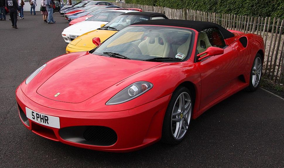 Ferrari F430 Spider - Flickr - exfordy