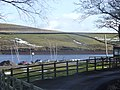 Field drainage and Belmont reservoir - geograph.org.uk - 1730388.jpg