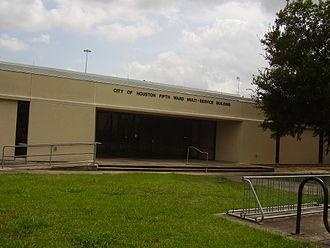 Fifth Ward, Houston - Fifth Ward Multi-Service Center