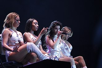 Fifth Harmony - Fifth Harmony performing on their PSA Tour, September 2017.