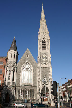Northside, Dublin - Findlater's church (Abbey Presbyterian Church), Parnell Square