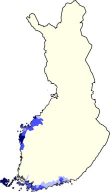 finsk øgruppe med eget flag