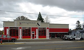 Gladstone, Oregon - Fire and police station, located in Gladstone's downtown