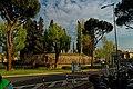 Firenze - Florence - Piazzale Donatello - View SSE on Il Cimitero degli Inglesi 1828-1877.jpg