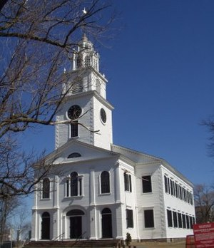 Roxbury, Boston - First Church of Roxbury