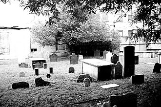 History of the Jews in Portugal - The first Cemetery of the first Spanish and Portuguese community Synagogue (Shearith Israel, active 1656-1833), Manhattan, New York City.