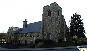 English: First Congregational Church of Hyde P...