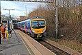 First TransPennine Class 185, 185138, Mossley Hill railway station (geograph 3819687).jpg