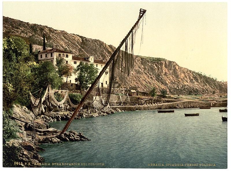 File fishing village volosca abbazia austro hungary for 13 fishing origin c