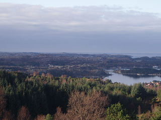 Palearctic ecoregion in the Temperate coniferous forests Biome, is located in along the coast of Norway