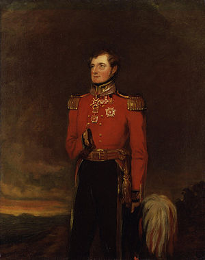 FitzRoy Somerset, 1st Baron Raglan - FitzRoy Somerset by William Salter, 1838–1840