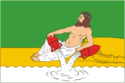 Flag of Veliky Ustyug