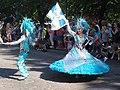 Flag bearer couple of Samba Carioca at Helsinki Samba Carnaval 2019.jpg