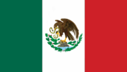 Flag of Mexico (1918-1934)