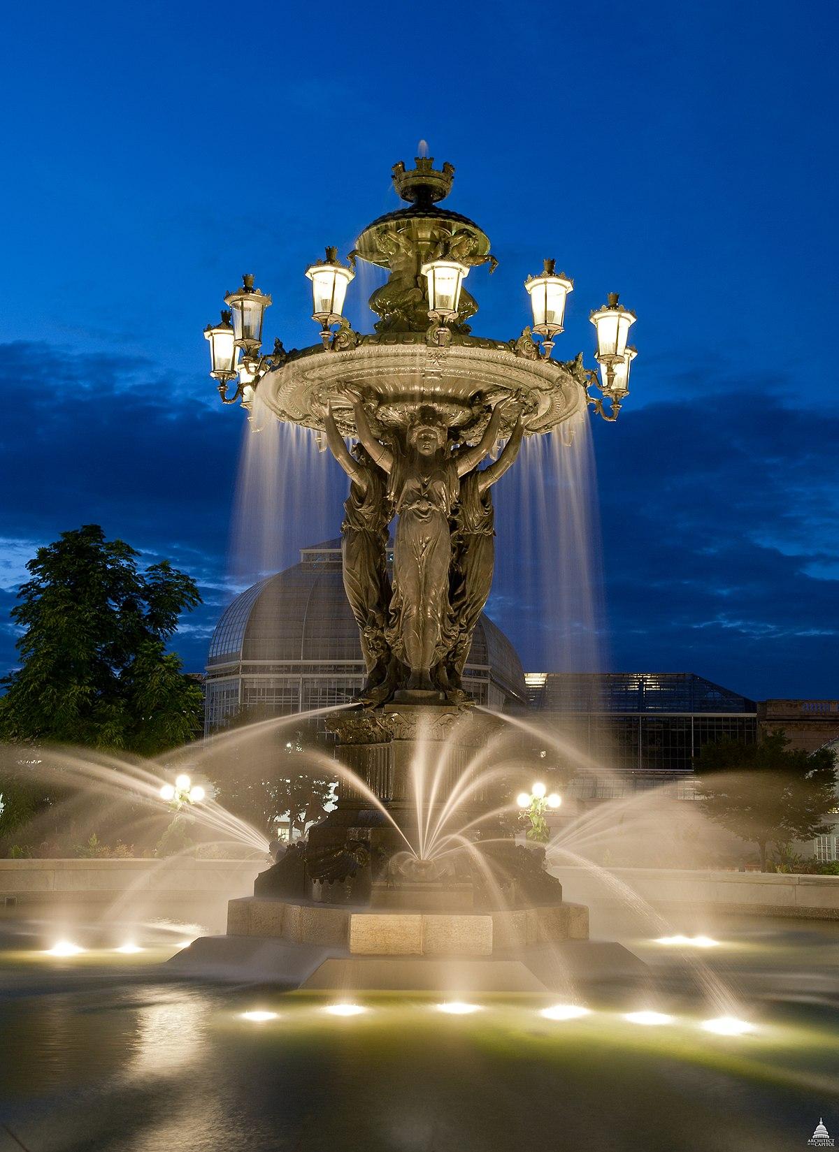 Bartholdi Fountain - W...