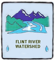 Flint River Watershed Sign.png