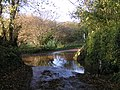 Flooded lane junction west of Butterleigh - geograph.org.uk - 1584326.jpg