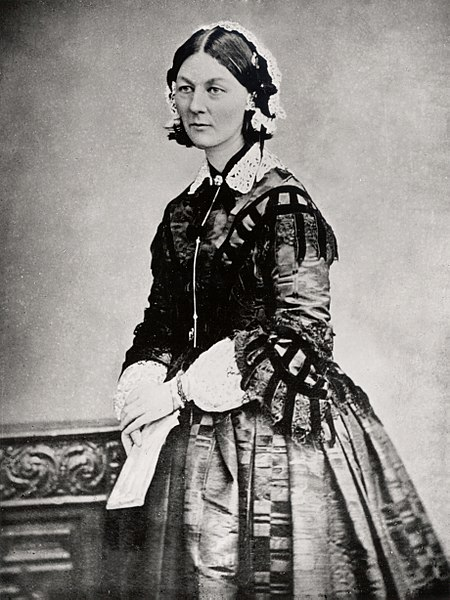 a biography of florence nightingale the founder of modern nursing