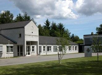 Royal Danish Air Force Academy - Main entrance