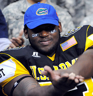 Sharrif Floyd - Floyd choosing Florida at the end of the 2010 Army Bowl.