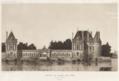 Fonds des gravures de la collection des Archives départementales - 33 FI 643 Selles-sur-Cher - Château de Selles-sur-Cher 1913.png
