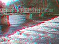 Footbridge across the River Wharfe - 33416526160.jpg