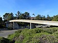 Footbridge over SR 24 ramps at Orinda station, March 2018.JPG