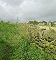 Footpath - Jackroyd Lane, Upper Hopton - geograph.org.uk - 889702.jpg
