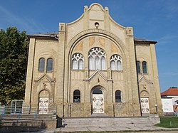 Former synagogue. Listed ID -1499. (1905)- Hungary.JPG