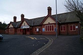 James Miller (architect) - Image: Fort Matilda railway station geograph.org.uk 1702472